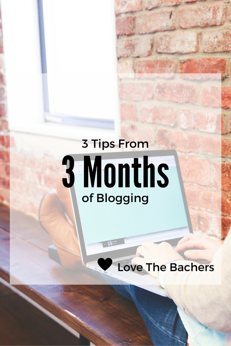 3 Months of Blogging Image